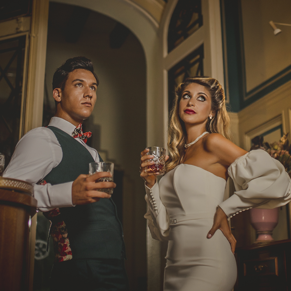 trajes de novio y novia